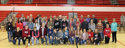 McDowell and LEHS Students Support Veterans