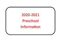 Apply Now for 2020-2021 Preschool