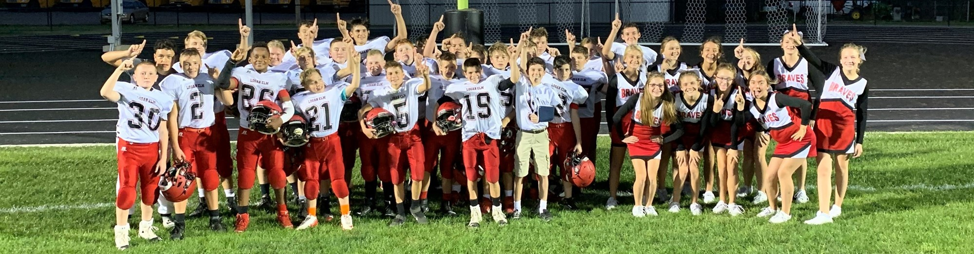 Seventh Grade Football Team 8-0