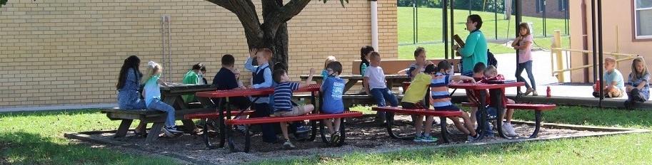 Outdoor music class