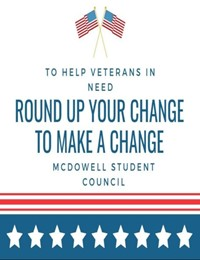 round up change for veterans